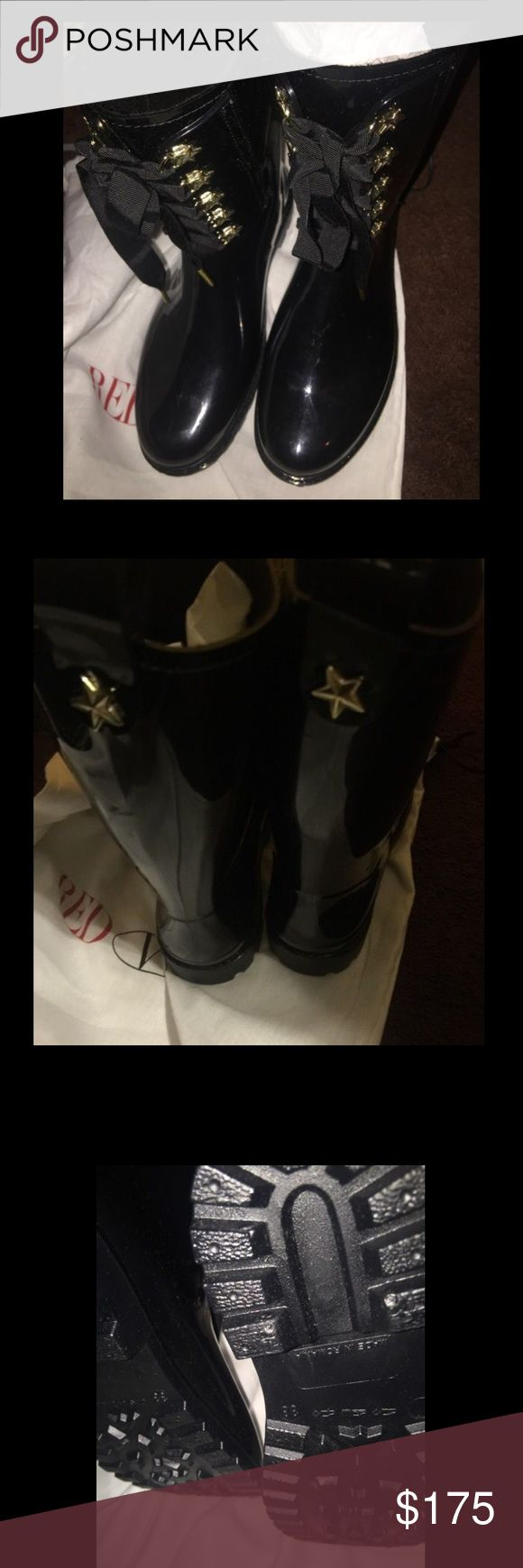 Red Valentino boots New, rain boots, dust bag no box, size 38 RED Valentino Shoes Winter & Rain Boots