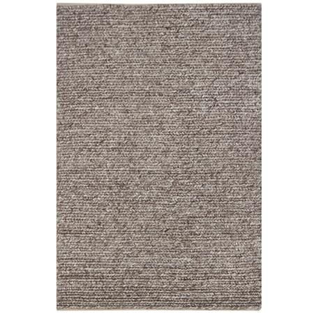 Wool Tweed Braided Sweater Rug Grey Beige Or Brown For
