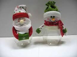 Resultado de imagen para muñecos de navidad reciclables