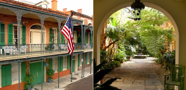 8 best vacations to take images on pinterest travel for Best boutique hotels french quarter
