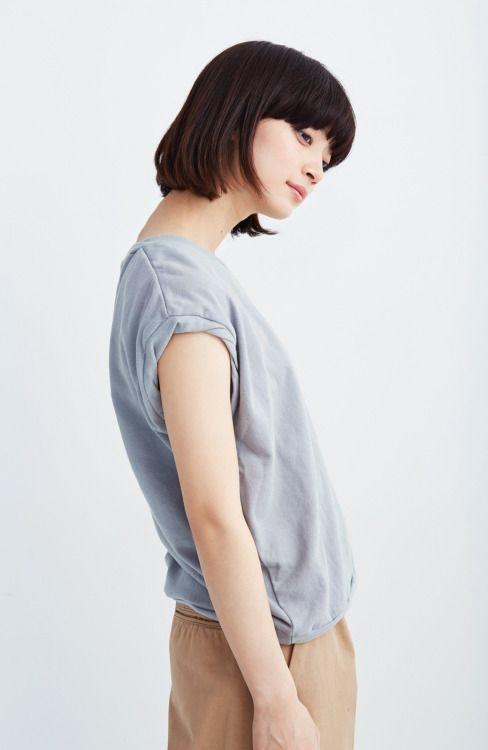 "yoimachi: "" (haco! FRAMeWORK FOR PBP やさしくて上質で上品なフレンチプルオーバー<ライトグレー>   ファッション通販のhaco!から) 田中真琴 """