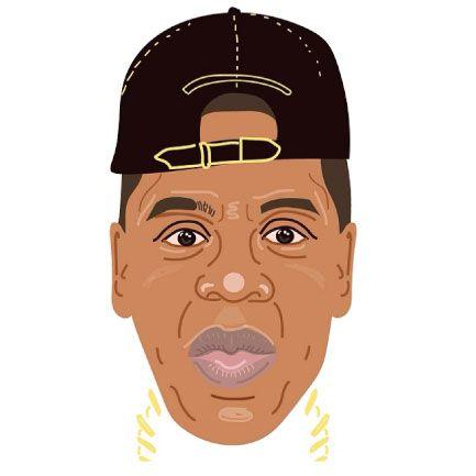 Jay-Z - alysha dawn illustration