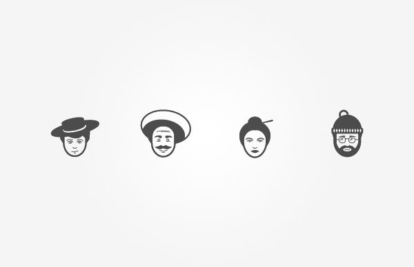 Pictograms & Icons by Sascha Elmers, via Behance