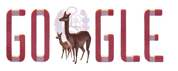Onafhankelijkheidsdag Peru http://www.websonic.nl/googledoodles/doodle_onafhankelijkheidperu.php