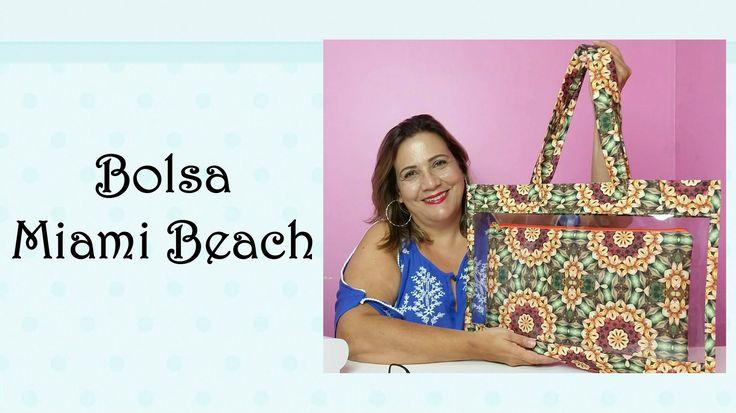 Olá Arteirinhas! Pro primeiro vídeo dessa semana escolhi uma bolsa de praia linda, que vocês vão amar fazer porque é bem rápida e de plástico, própria pra ár...