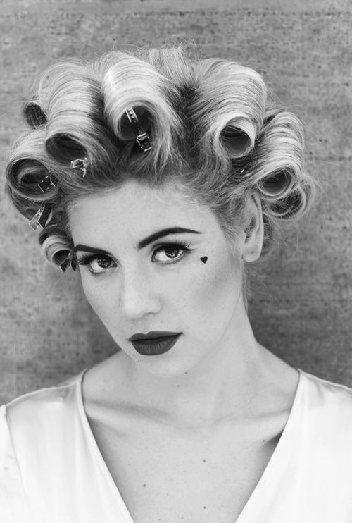 """Be your own inspiration. Don't listen to people who say 'don't'. Most people are scared to do what they love."" - Marina Diamandis (Marina and the Diamonds)"