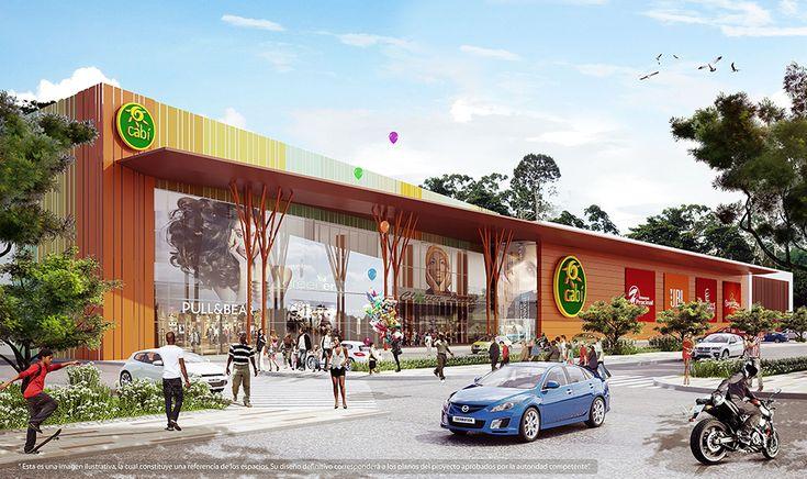Centro Comercial Cabí Quibdó - Chocó Área construida: 51.243 m2