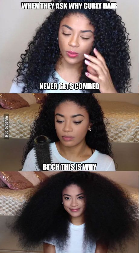 curly hair problems.