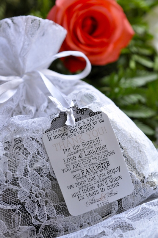 favor tags - made by http://www.etsy.com/shop/KraftsGalore: Shower Ideas, Wedding Favors Tags, Wedding Favor Tags, Lace Bag, Wedding Brid Shower, Website Ideas, Bags Ideas