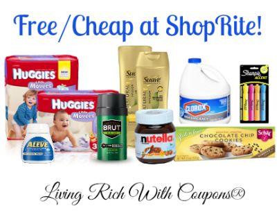 FREE Suave Professionals, Schar Cookies, Brut Deodorant & More at ShopRite!