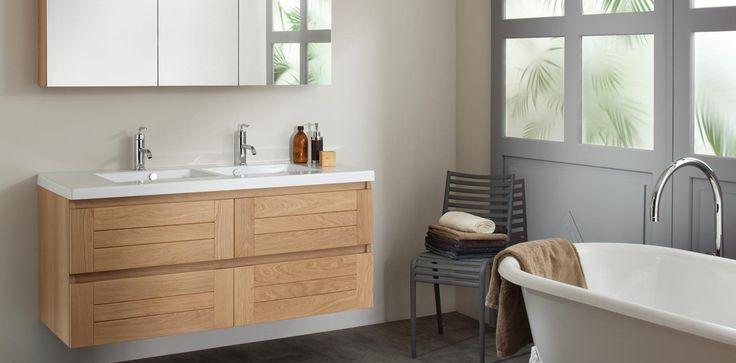 Meuble salle de bain Sanijura Lignum | CMR