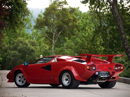 European Cars 1985 Lamborghini Countach Lp5000 S