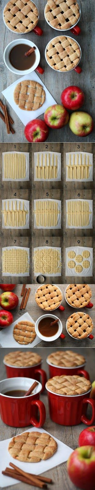 DIY Pie Mug Toppers | DIY & Crafts Tutorials