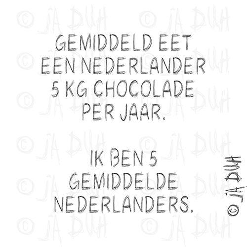 Gemiddelde Nederlander. Ja Duh! #humor #spreuk #Nederlands #lachen #lol #quote #tekst #herkenbaar