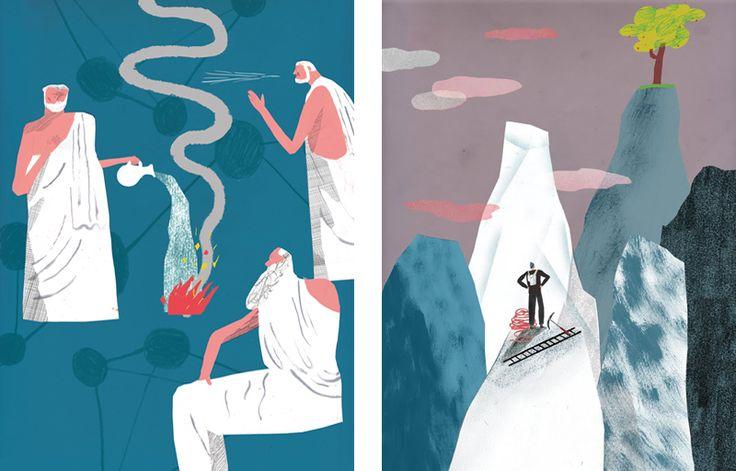 Fantastic illustrations by Luke Best