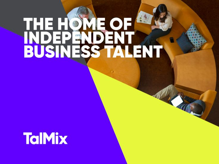 We'd like to introduce you to TalMix: The Home of Independent Business Talent. www.talmix.com