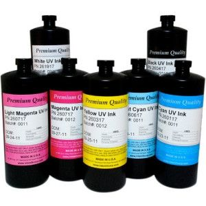 INK MILL UV Inkjet Ink for Rastek H700 - Yellow - Inkjet