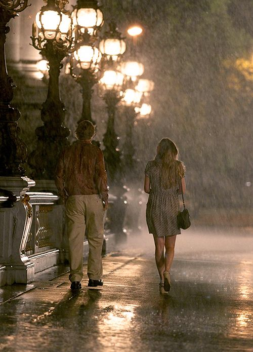 Midnight in Paris.  LOVE, LOVE, LOVE this movie...great soundtrack too