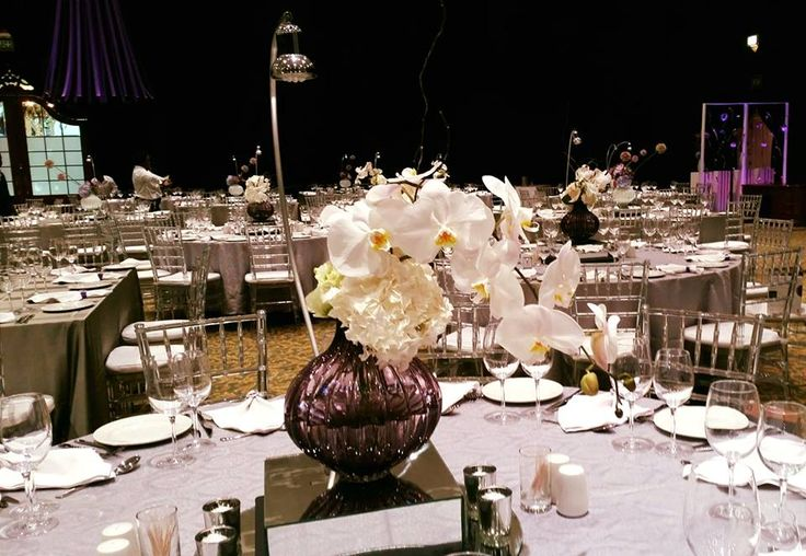 #Throwback to this elegant affair complete with tables featuring exquisite orchids beautifully accentuated with pin spot lighting #eventdesign #eventdecor #eventmanagement #eventprofs #capetown #westerncape #throwbackthursday