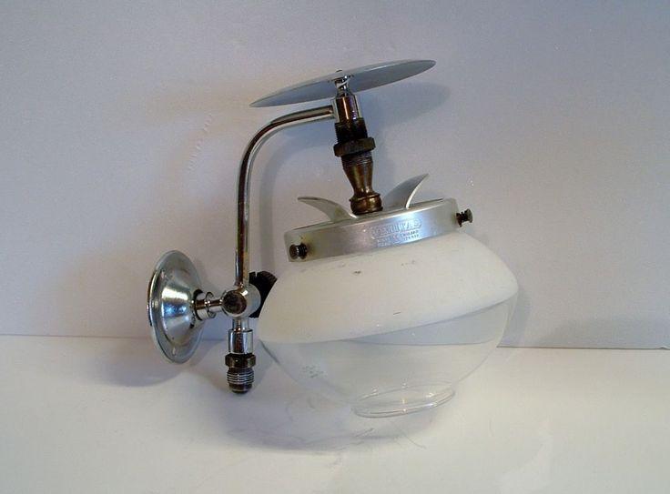 Vintage Gas Wall Lamps : VINTAGE VERITAS WALL GAS LAMP w/ORIGINAL PYREX GLOBE. VINTAGE PYREX - LOVE IT! Pinterest ...