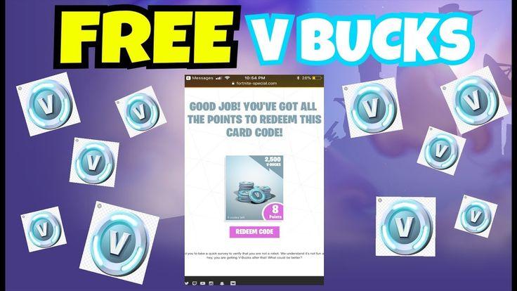 Free v bucks generator 2020 free vbucks generator no
