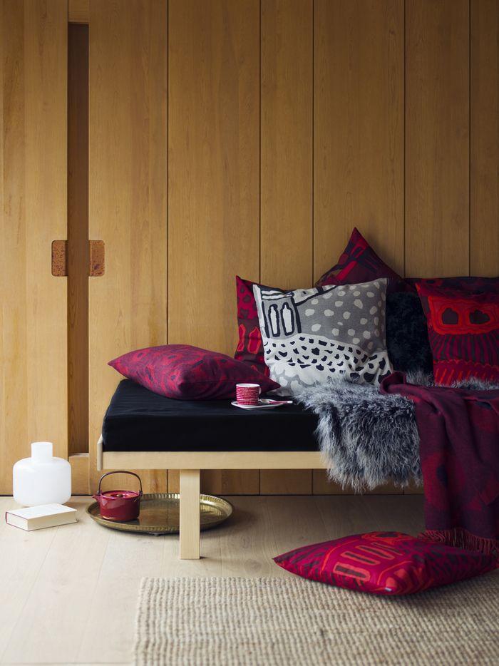 Kumiseva cushion covers by Marimekko