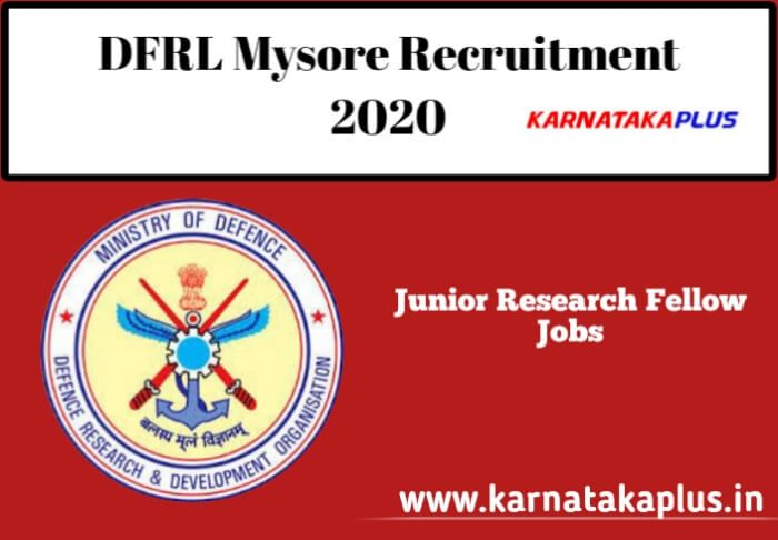 Dfrl Mysore Recruitment 2020 Walk In Interview For 02 Posts Dfrl