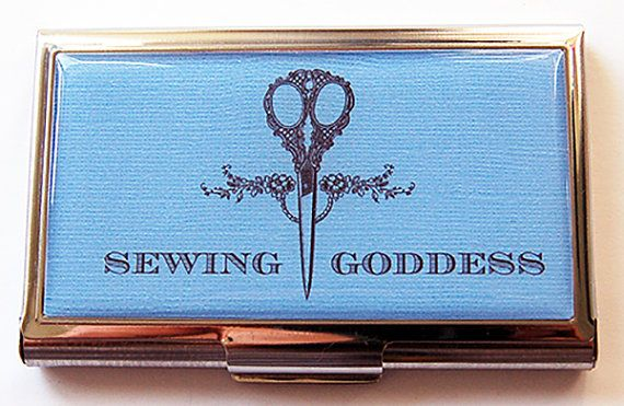 Sewing Goddess Sewing Needle case Needle case by KellysMagnets