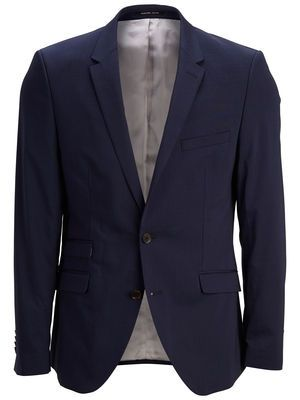 One Park Fall Navy Stripe Blazer ID, Navy, main