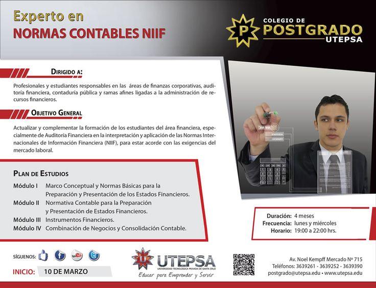 UTEPSA - Experto en Normas Contables NIIF