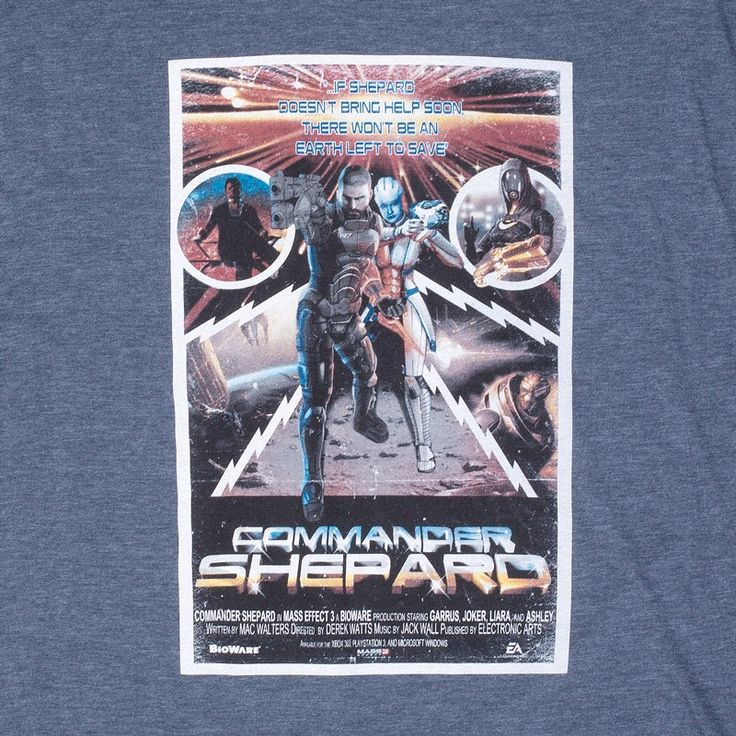 The BioWare Store - Commander Buck Shepard Tee - T-Shirts - Men's - Apparel