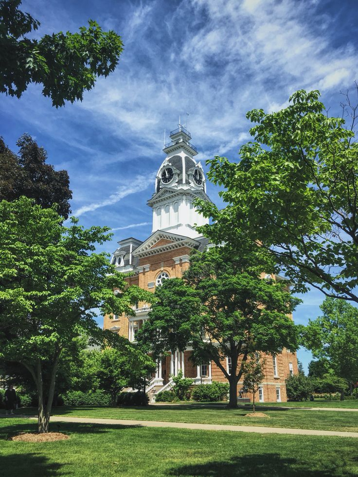Central Hall, Hillsdale College Michigan... Oldest
