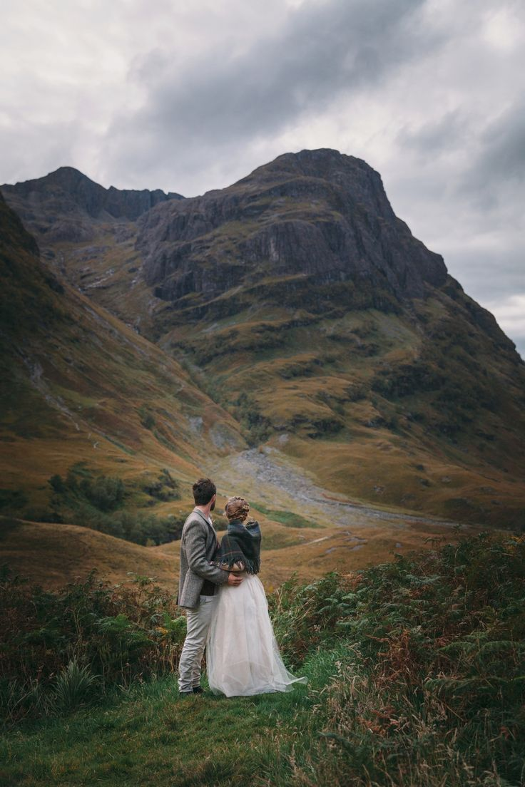 jamie + jourdan | elopement at north ballachulish — Braw Brides