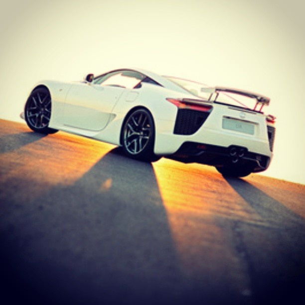 Whou0027s Driving A Lexus LFA This Summer? Such A Rad Car. Is That Car Winking  At Me?