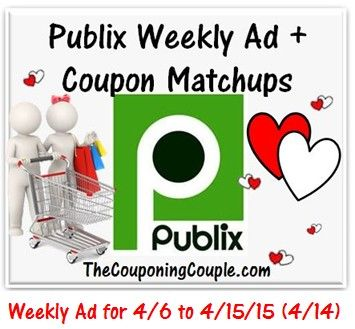 ***HERE YOU GO!!!*** Here is the NEW Publix Ad for 4-6 to 4-15-15 (or 4/6-4/14 for those whose ad begins on Wednesdays) with Coupon Matchups!  Click the link below to get all of the details ► http://www.thecouponingcouple.com/publix-ad-with-coupon-matchups-for-4-6-to-4-15-15-46-414/  #Coupons #Couponing #CouponCommunity  Visit us at http://www.thecouponingcouple.com for more great posts!