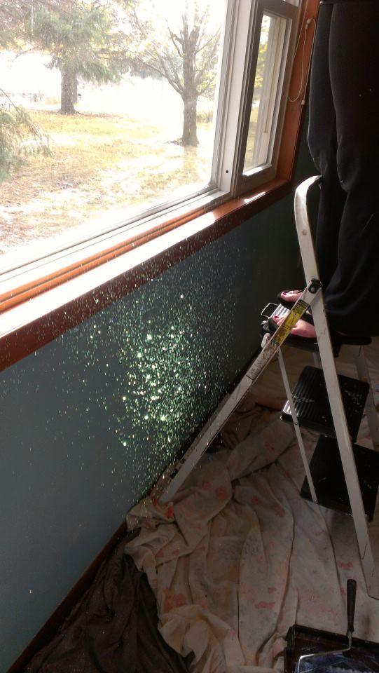 Glitter Wall!