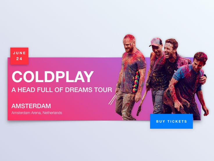 The 25+ best Coldplay tickets ideas on Pinterest Coldplay - concert tickets design