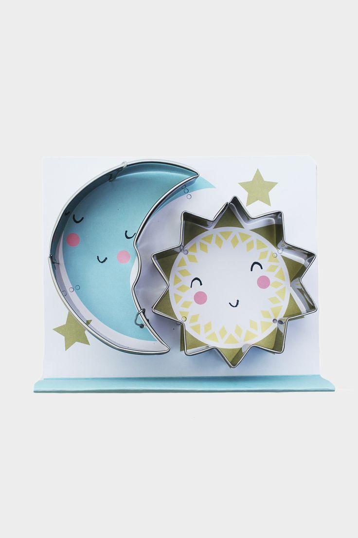 Moon & Sun Cookie Cutters