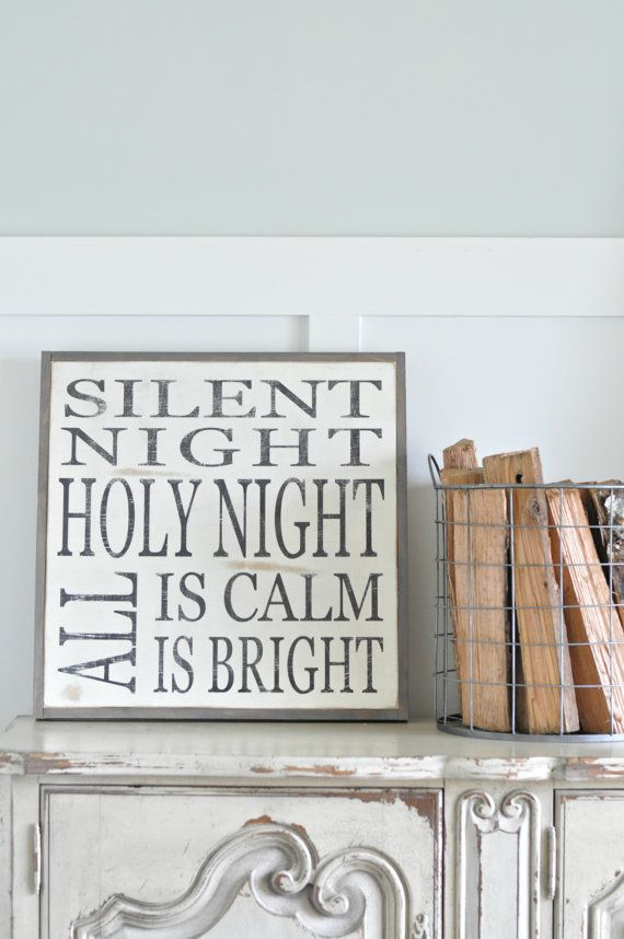 17 best ideas about silent night on pinterest holy night for O holy night decorations