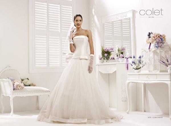 Collezione abiti da sposa #Colet 2013, abito da #sposa COAB13464IV