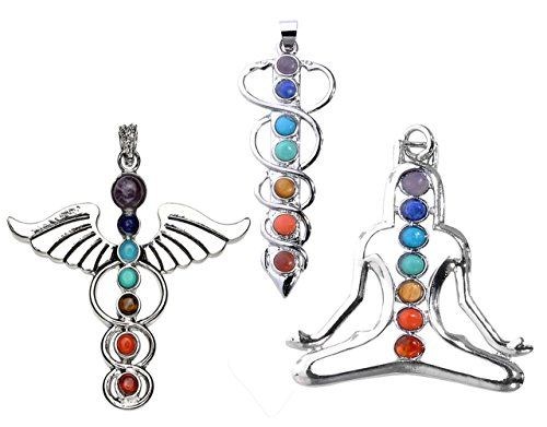 JOVIVI® 7 Beads Natural Quartz Gemstones Stone Pendant Healing Point Chakra Reiki (YOGA&Angel Wings& Holy Sword Style 3pc) Jovivi http://www.amazon.com/dp/B00NWAUCEY/ref=cm_sw_r_pi_dp_XYu9wb1R1EZ9J