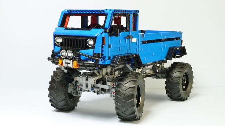 Hello! My latest MOC is a re-creation of unusual Jeep model.  Jeep Mighty FC Concept -Weight: 2125g -2 XL motors for propulsion ...