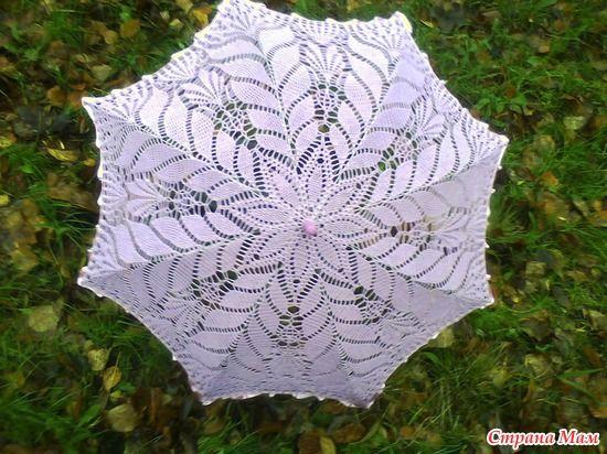 Здравствуйте дорогие страномамочки, начинаем вязать наш зонтик. опрос проводился тут http://www.stranamam.ru/ желающих было много.