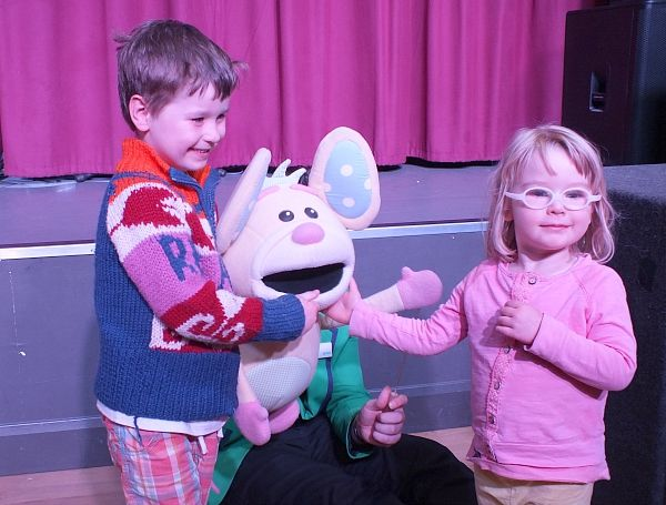 Children's entertainment at Park Resorts Nodes Point, Isle of Wight