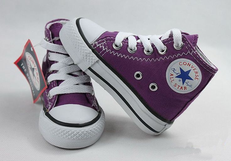 Purple baby converse. 68