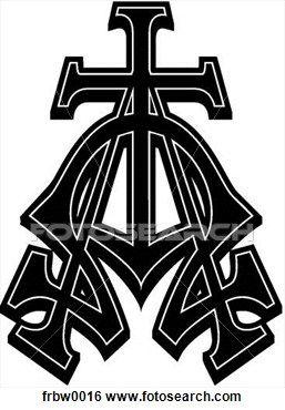 clip art of jesus as alpha and omega   Alpha, oméga Voir ...