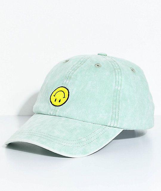 A-Lab Upside Down Smile Face Strapback Hat c03b5a5a677e