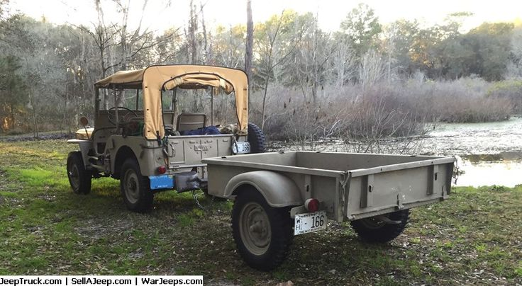 Jeeps For Sale and Jeep Parts For Sale - 1945 CJ #1117