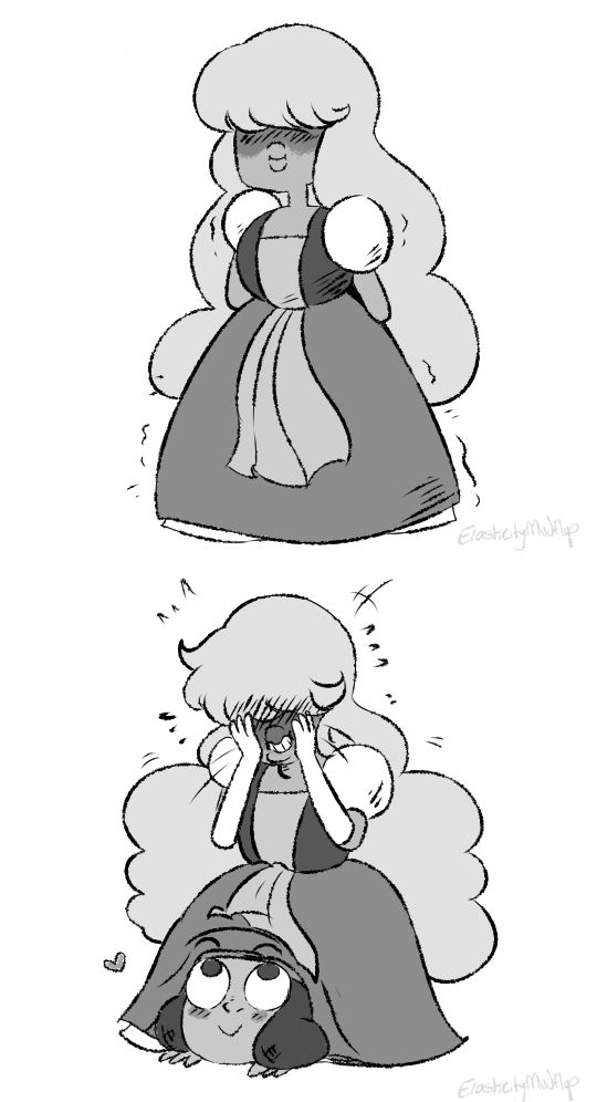Aww lol Ruby and Sapphire Steven Universe