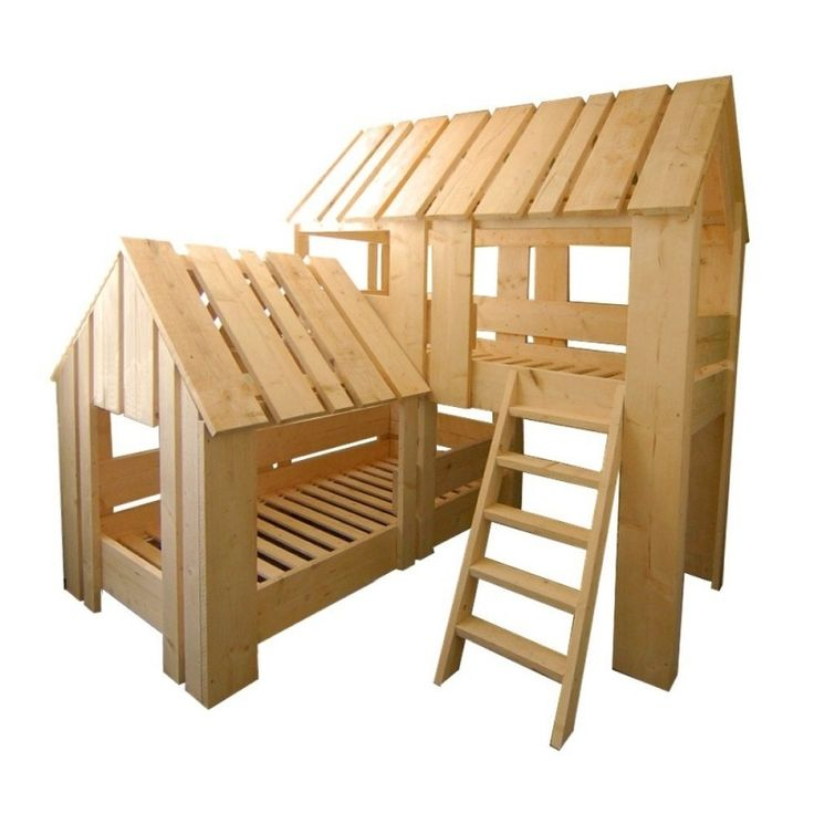 2 pers boomhut bed